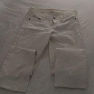 J Crew White Jean
